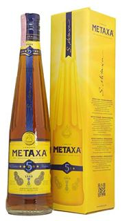 Picture of *BRANDY METAXA 0.70L 5*-12/1-