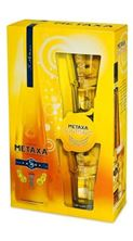 Picture of *BRANDY METAXA 0.70L 5* GIFT+2 ČAŠE 38%ALK -12/1-