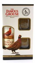 Picture of N-*WHISKY FAMOUS GROUSE 0.7L +2 ČAŠE