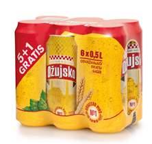 Picture of N-*PIVO OŽUJSKO 0.50L LIM.5+1 GRATIS  -4/1-