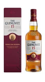 Picture of N-*WHISKY GLENLIVET 15YO SINGLE MALT 0.7L SCOTCH GIFT