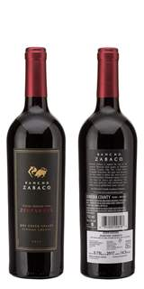 Picture of *ZINFANDEL RANCHO ZABACO 0.75L HERITAGE ZP SUHO 2017 12/1