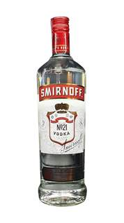 Picture of N-*VODKA SMIR 1.00L RED LABEL   -12/1-