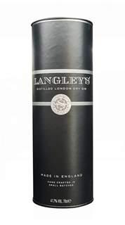 Picture of *GIN NO8 LANGLEYS POKLON PAKET LONDON DRY 0.7L  -6/1-