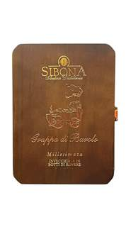 Picture of *GRAPPA RISERVA BAROLO 2005. 0,7L SIBONA DRVENA KUTIJA -6/1-